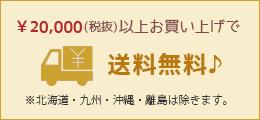 5000円以上のお買い上げで送料無料